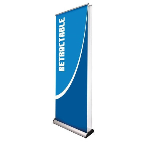 Orient Double-sided Retractable Banner Stand