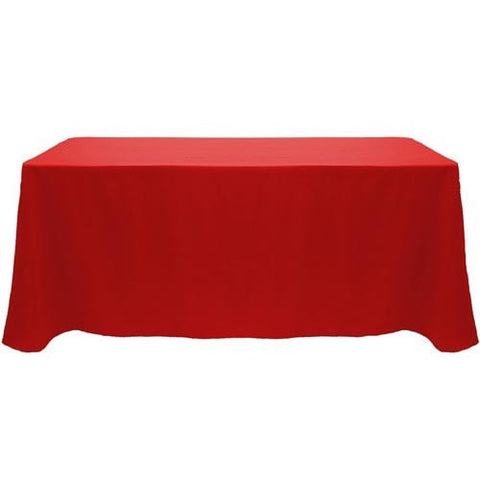 Trade Show Unprinted Table Cover Red Front