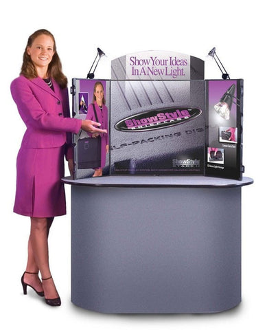 ShowStyle Briefcase Display Table Top