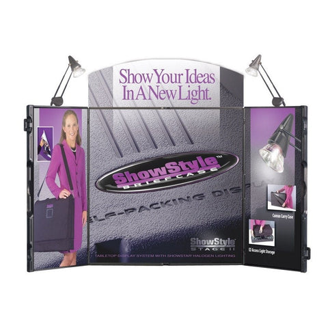 ShowStyle Trade Show Briefcase Display Main Image