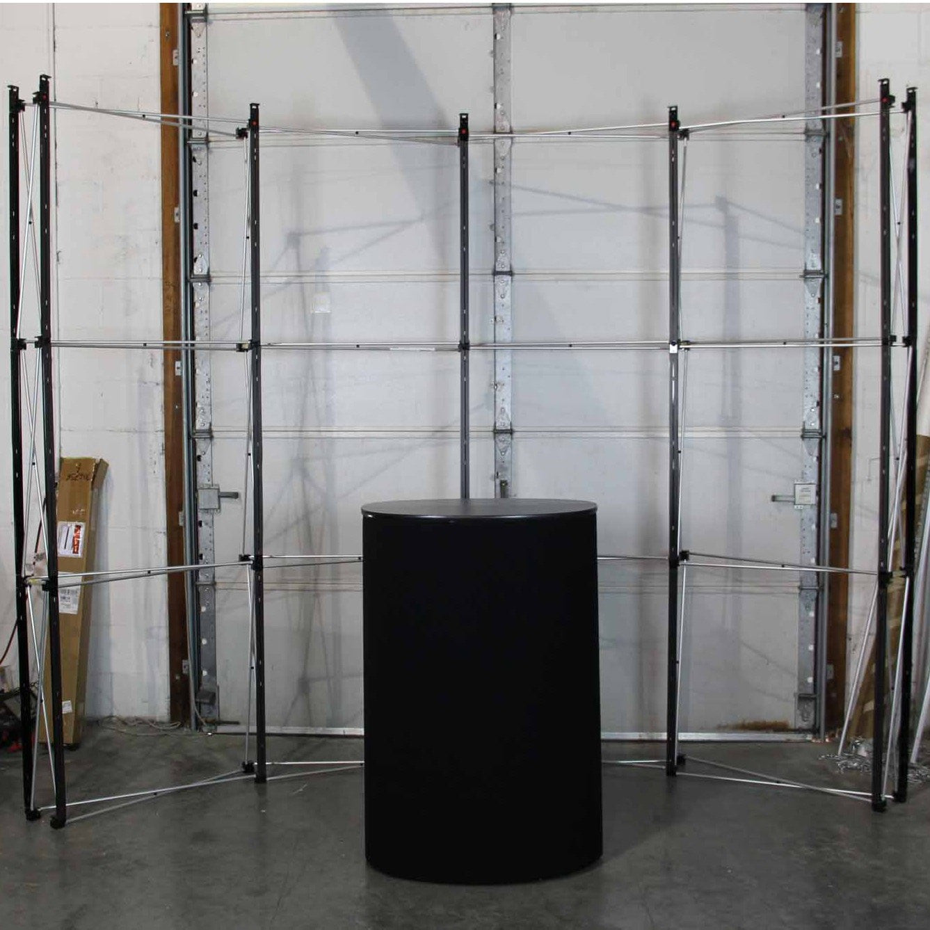 Used Trade Show Booth : Skyline quest pop up display podium kit used