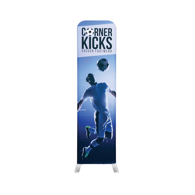 Tension Fabric Banner Stand - Double Sided