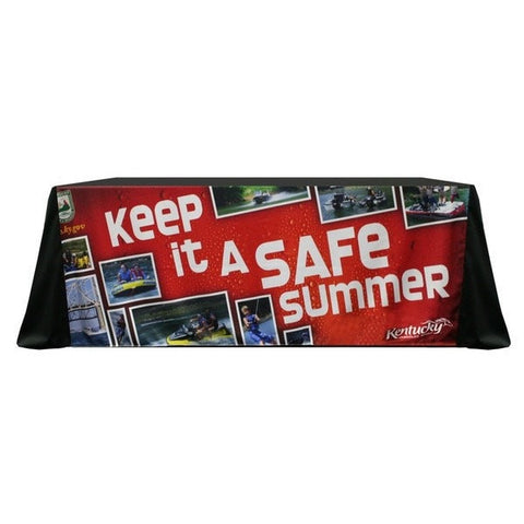 Keep It Safe Trade Show Table Cover