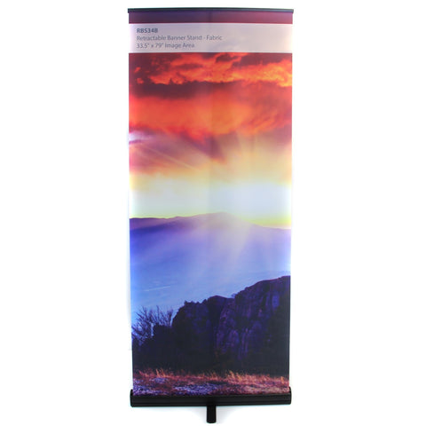 TSJ Premium Retractable Banner Stand
