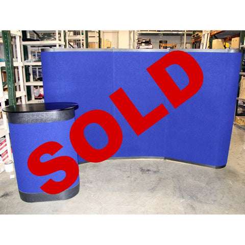 Used Brand Stand Pop-up Floor Display