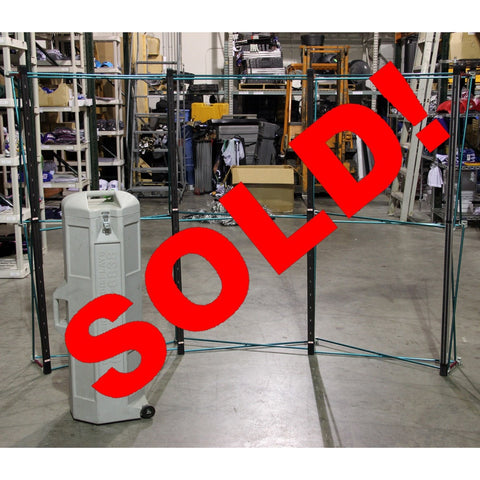 Used Pro Display Floor Pop-up System