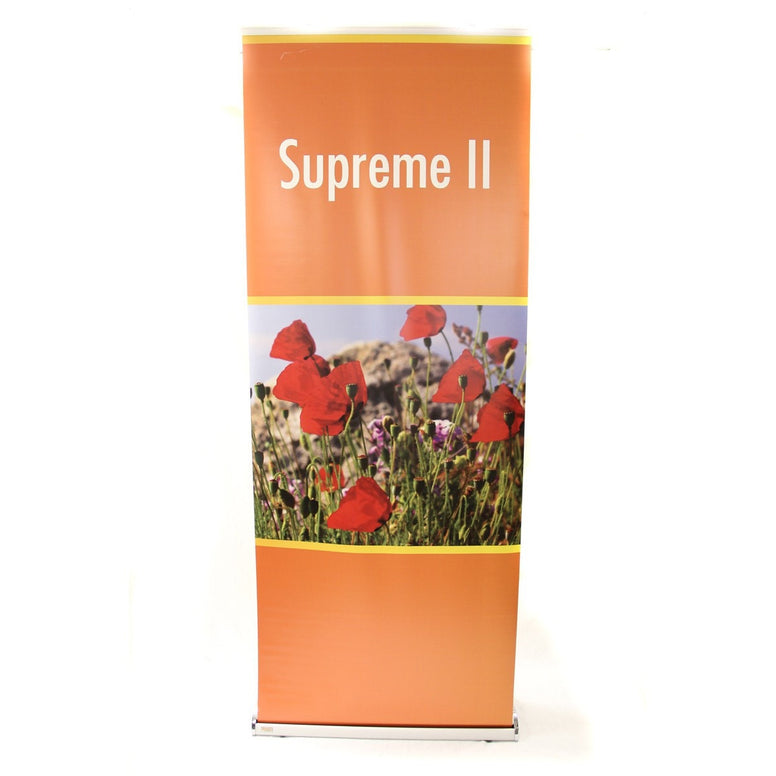 Used Supreme II Trade Show Banner Stand
