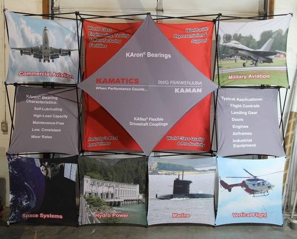Xpressions 4x3 10ft Trade Show Display
