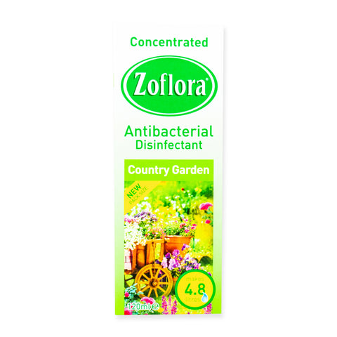 Zoflora Antibacterial Disinfectant - Country Garden 120ml