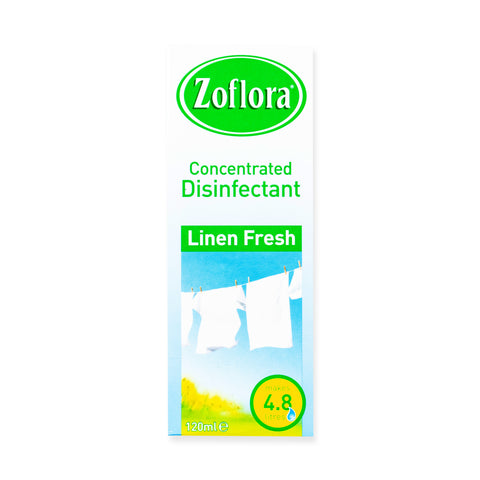 Zoflora Concentrated Disinfectant - Linen Fresh 120ml