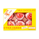 Tunnock's Milk Chocolate Tea Cakes x6