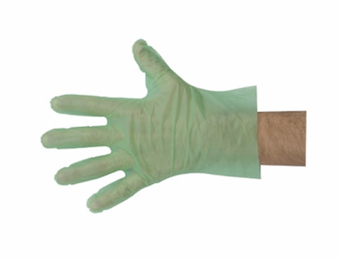 Hypoallergenic green gloves 200