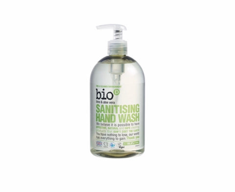 Bio-d Lime and Aloe Vera 500ml sanitising hand wash