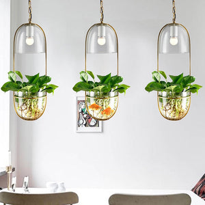 Botanical Hanging Garden Light - WriteOnMan