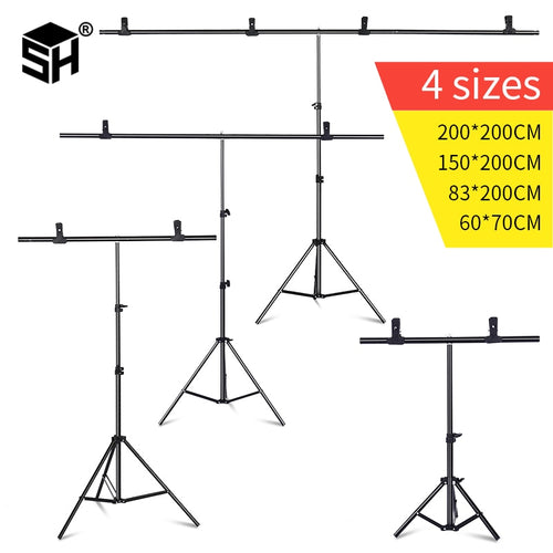T Stand-Photography Backdrop Stand - WriteOnMan