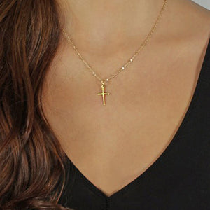 Classic Cross- Pendant Necklace - WriteOnMan