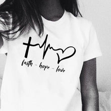 Load image into Gallery viewer, Faith Hope Love- T Shirt - WriteOnMan