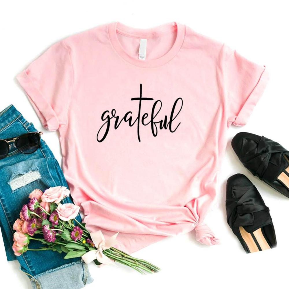 Grateful-T-Shirt - WriteOnMan