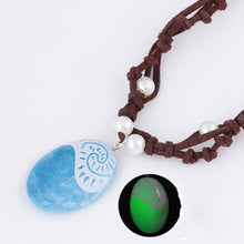 Load image into Gallery viewer, Blue Stone- Luminous Pendant Necklace - WriteOnMan