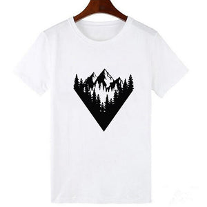 The Mountains- T-Shirt - WriteOnMan