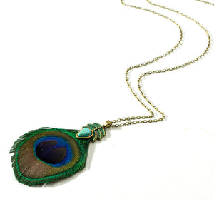 Bohemian Feather Necklace - WriteOnMan