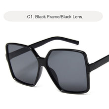 Load image into Gallery viewer, Vintage Oversize Square Sunglasses - WriteOnMan