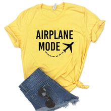 Load image into Gallery viewer, Airplane Mode-T-Shirts - WriteOnMan