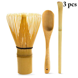 3PCS Japanese Matcha Bamboo Tea Set - WriteOnMan