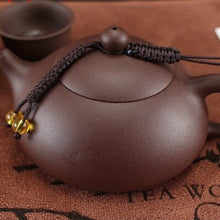 Load image into Gallery viewer, Chinese Tea Pot- With Handmade Tassel - WriteOnMan