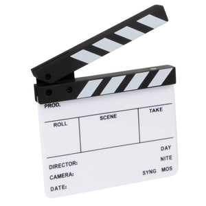 Photography Props-Directors Board/Dry Eraser board 16X14Cm - WriteOnMan
