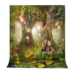 Photography Backdrops and Scenes-Fairy Forest Theme - WriteOnMan
