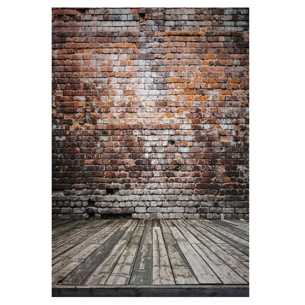 Photography Backdrops and Scenes-Red Brick Wall Theme - WriteOnMan