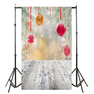 Photography Backgrounds and Scenes-Christmas Ornaments - WriteOnMan