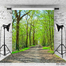 Load image into Gallery viewer, Photography Backdrops and Scenes-Walking in the Woods - WriteOnMan