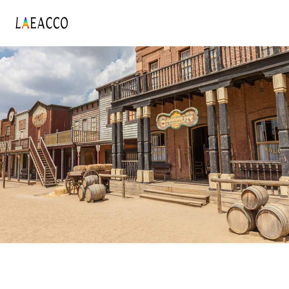 Photography Backdrops and Scenes-Western Saloon - WriteOnMan