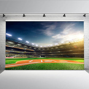Photography Backdrops and Scenes- Baseball Stadium - WriteOnMan