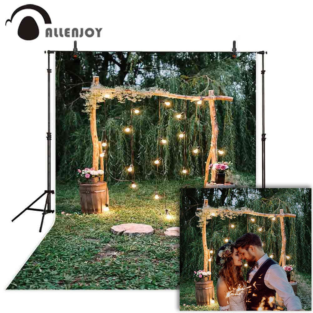 Photography Backdrops and Scenes- Romantic Outdoor Scene - WriteOnMan