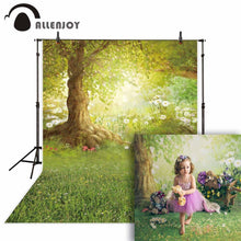 Load image into Gallery viewer, Photography Backdrops and Scenes- Easter Woodland Meadow - WriteOnMan