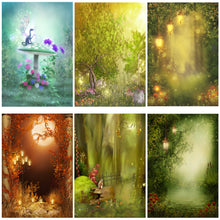 Load image into Gallery viewer, Photography Backdrops and Scenes-Woodland Fairy's and Fantasy Forests - WriteOnMan