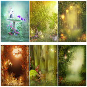Photography Backdrops and Scenes-Woodland Fairy's and Fantasy Forests - WriteOnMan