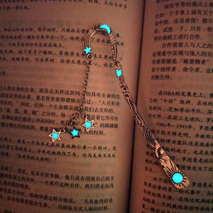Luminous Moon Stars Bookmarks - WriteOnMan