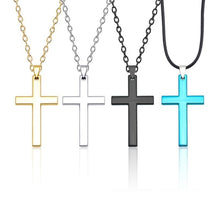 Load image into Gallery viewer, Rugged Cross-Necklace - WriteOnMan