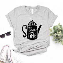 Load image into Gallery viewer, It's Tea Time-T-Shirt - WriteOnMan