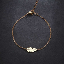 Load image into Gallery viewer, Feather Necklace-Stainless Steel - WriteOnMan