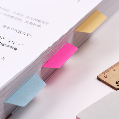 1PC 6 Colors- Index Tabs - WriteOnMan