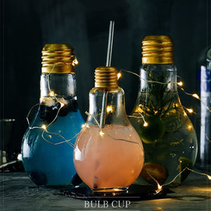 It's Electrifying!  Having a Sci Fi or Steampunk Party?  Light Bulb Glasses to create the perfect atmosphere! - WriteOnMan