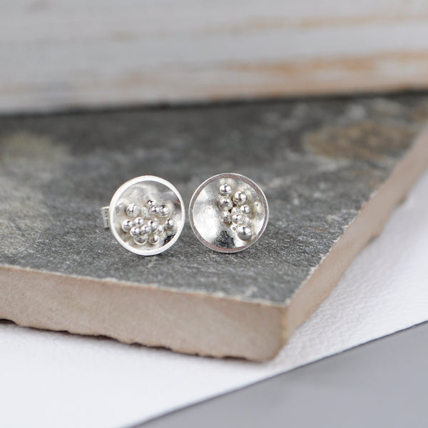 Domed Bubble Studs - Paisley Pins