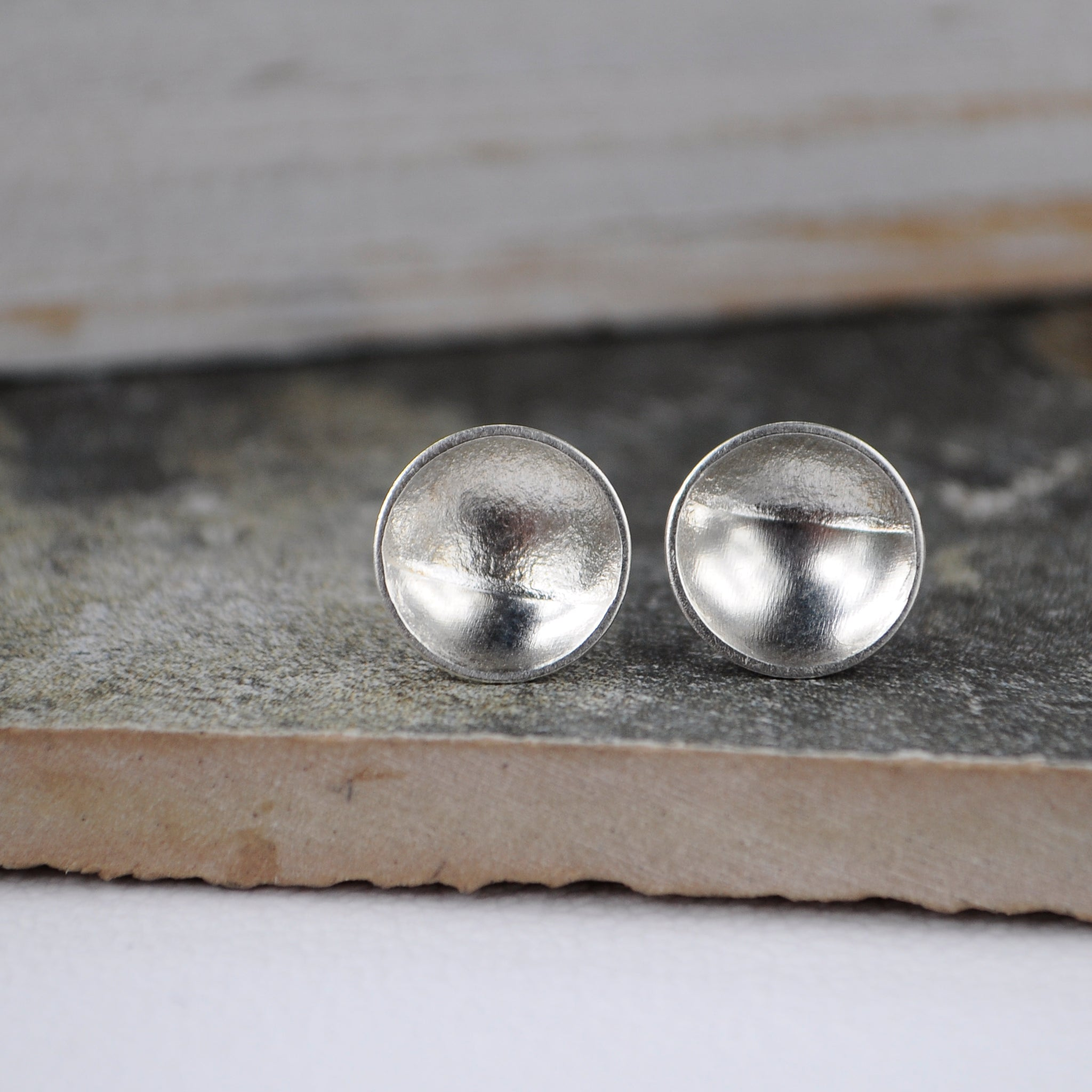 Textured Dome Studs - Paisley Pins