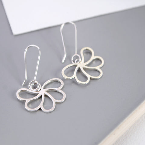 Silver Array Earrings - Paisley Pins