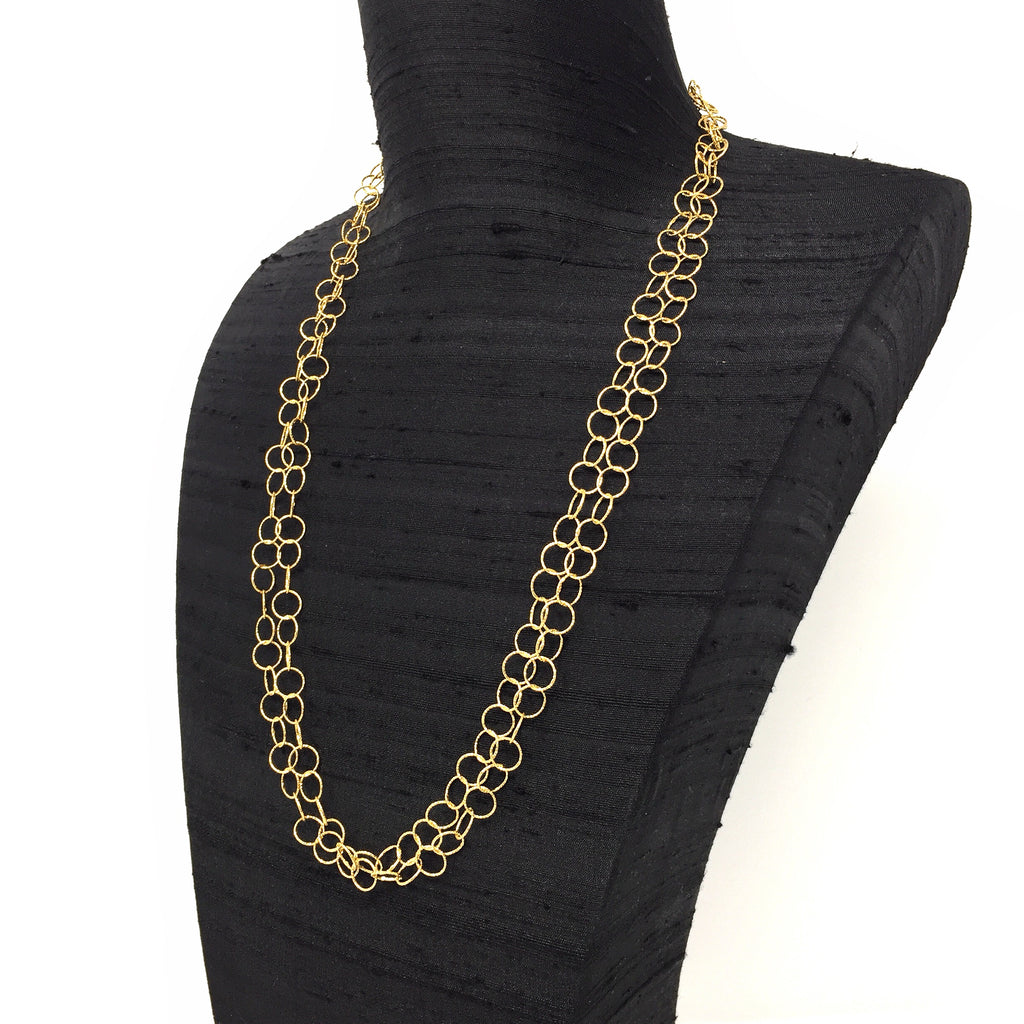 Giotto Necklace (B Matinee - Yellow Gold)